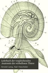 Lehrbuch der vergleichenden Anatomie der wirbellosen Thiere: Volume 3, Issue 1