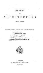 De architectura: libri decem