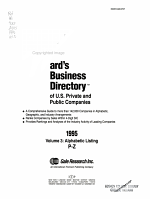 Ward s Business Directory of U S  Private and Public Companies  1995 PDF