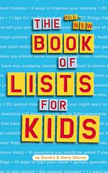 The All New Book Of Lists For Kids Book PDF