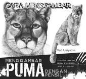 Menggambar Puma dengan pensil