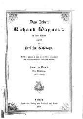 Das Leben Richard Wagner's: Band 2