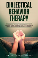 Dialectical Behavior Therapy Book PDF