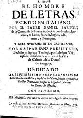El hombre de letras: escrito en italiano