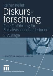 Diskursforschung: Eine Einführung für Sozialwissenschaftlerlnnen, Ausgabe 2