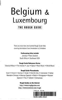 Belgium   Luxembourg PDF