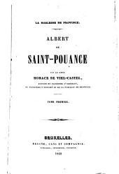 Albert de Saint-Pouance: Volume1