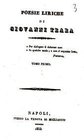 Poesie liriche di Giovanni Trara: 1
