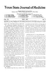Texas Medicine: Volume 11