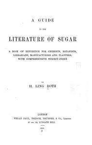 A Guide to the Literature of Sugar PDF