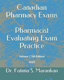 Canadian Pharmacy Exams   Pharmacist Evaluating Exam Practice PDF