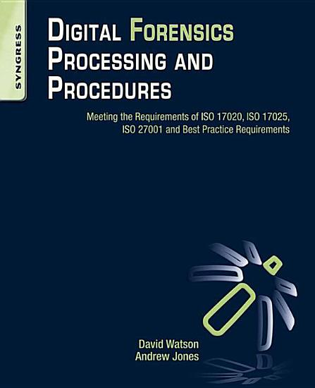 Digital Forensics Processing and Procedures PDF