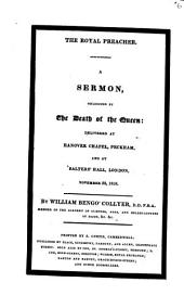 The royal preacher, a sermon, occasioned by the death of the queen