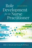 Role Development for the Nurse Practitioner PDF