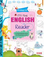 My First English Readers Primer A PDF