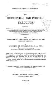 The Differential and Integral Calculus