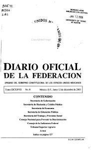 Diario oficial de la federaci  n PDF