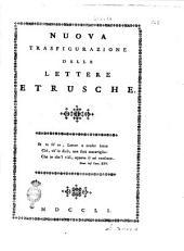 Nuova trasfigurazione delle lettere etrusche