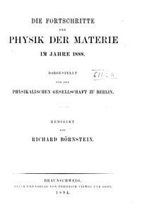 Fortschritte der Physik PDF