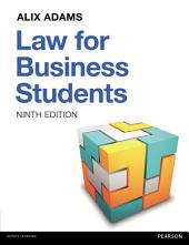 Law For Business Students: Edition 9