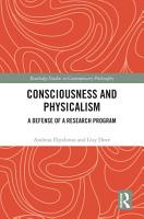 Consciousness and Physicalism PDF