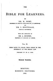 The Bible for Learners: Volume 2
