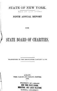 Annual Report of the New York State Board of Social Welfare and the New York State Department of Social Services PDF