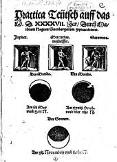Practica Teutsch auff das 1547. Jar