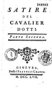 Satire del cavalier Dotti...