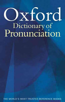 Oxford Dictionary of Pronunciation for Current English PDF
