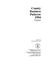 County business patterns, Virginia