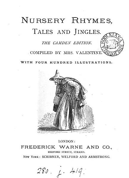Download Nursery rhymes  tales and jingles  The Camden ed  Compiled by mrs  Valentine Book