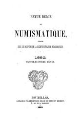 Revue belge de numismatique et de sigillographie: Volume38