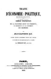 Collection des principaux économistes: Volume9