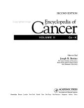 Encyclopedia of Cancer  Co K PDF