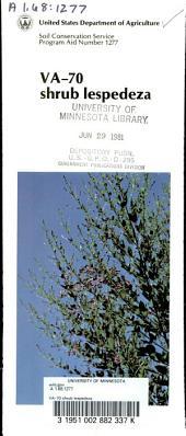 VA-70 shrub lespedeza