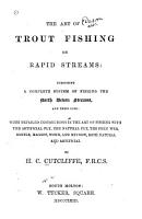 The Art of Trout Fishing on Rapid Streams PDF