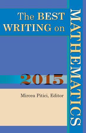 The Best Writing on Mathematics 2015 PDF
