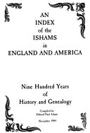 An Index of the Ishams in England and America PDF