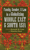 Family  Gender  and Law in a Globalizing Middle East and South Asia PDF