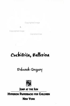 Cheetah Girls  10  Cuchifrita Ballerina PDF
