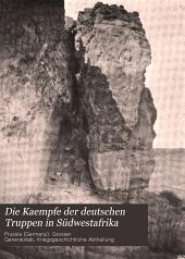 Die Kaempfe der deutschen Truppen in Südwestafrika: Band 2