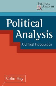 Political Analysis PDF
