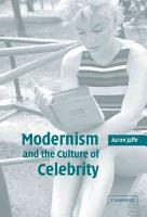 Modernism and the Culture of Celebrity PDF