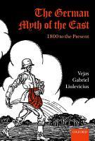 The German Myth of the East PDF