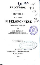 Histoire de la guerre du Péloponnése: Volume2