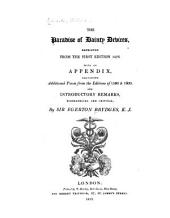 England's Helicon: A Collection of Pastoral and Lyric Poems, First Published at the Close of the Reign of Q. Elizabeth