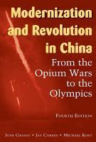 Modernization and Revolution in China PDF
