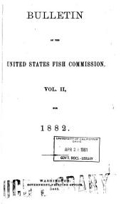 Bulletin of the United States Fish Commission: Volume 2