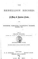 The Rebellion Record PDF